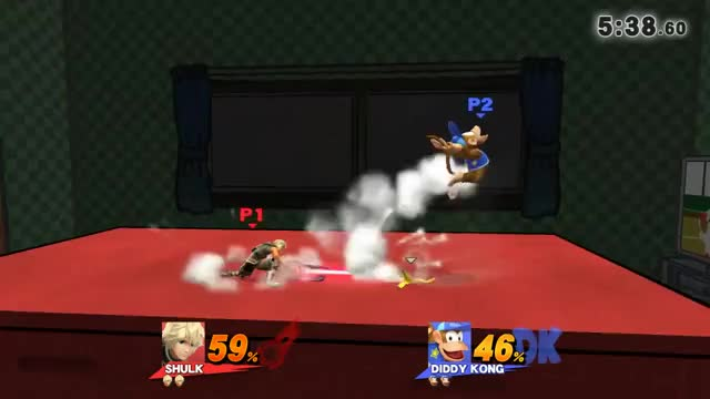 Gimping Diddy Kong is truly an art