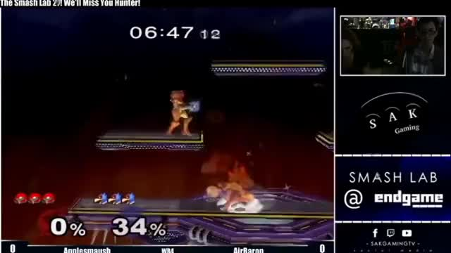 Nutty Samus edgeguard from Corigames' new samus video