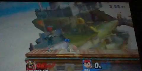 Falcon 0 to death combo i got (sorry for bad camera)