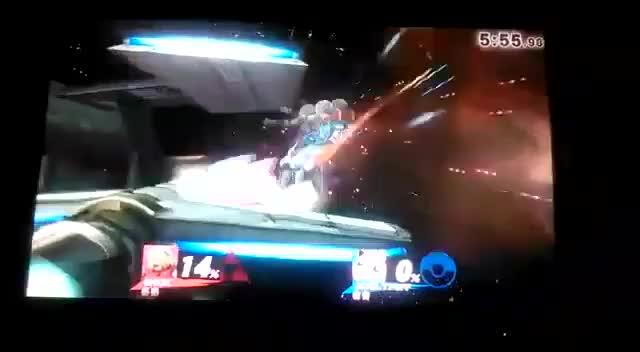 Ledge dash in Smash 4…