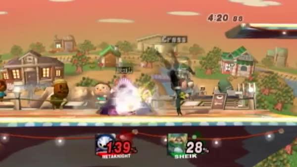 Cross's INCREDIBLE Game-Winning Punish On Edge's Meta Knight