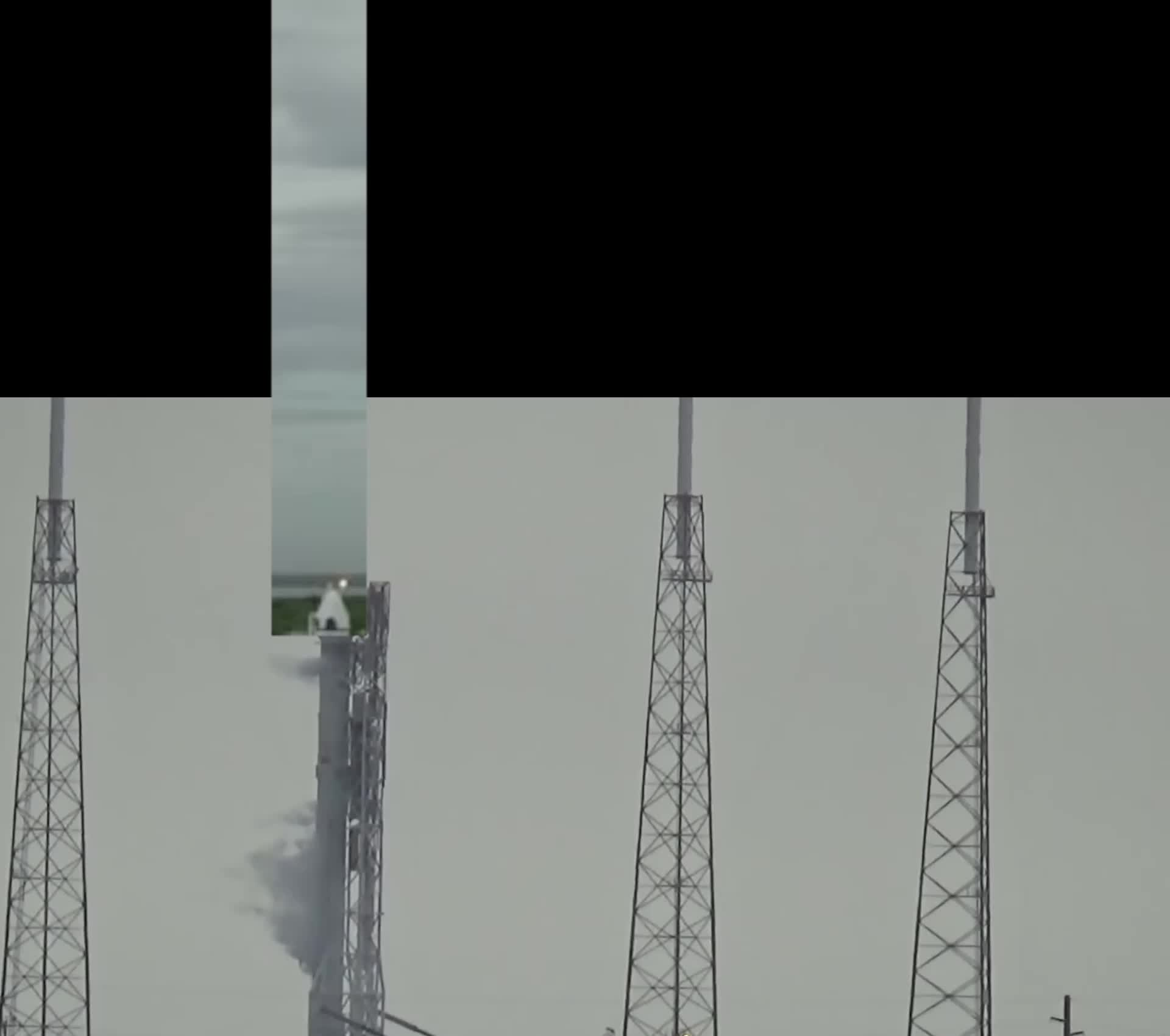 Crew Dragon test abort speed compared to Falcon 9 fireball