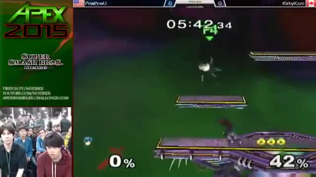 PPU shows his knowledge of hitboxes against KirbyKaze