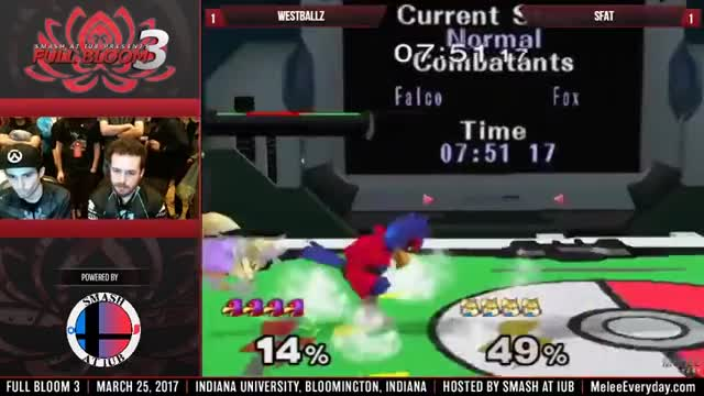 Falco combos are so pretty