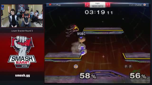 Plup set clinching shield break vs Chudat @ Smash Summit