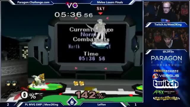 M2K quickly finishes Leffen's stock with a stylish reverse up-B