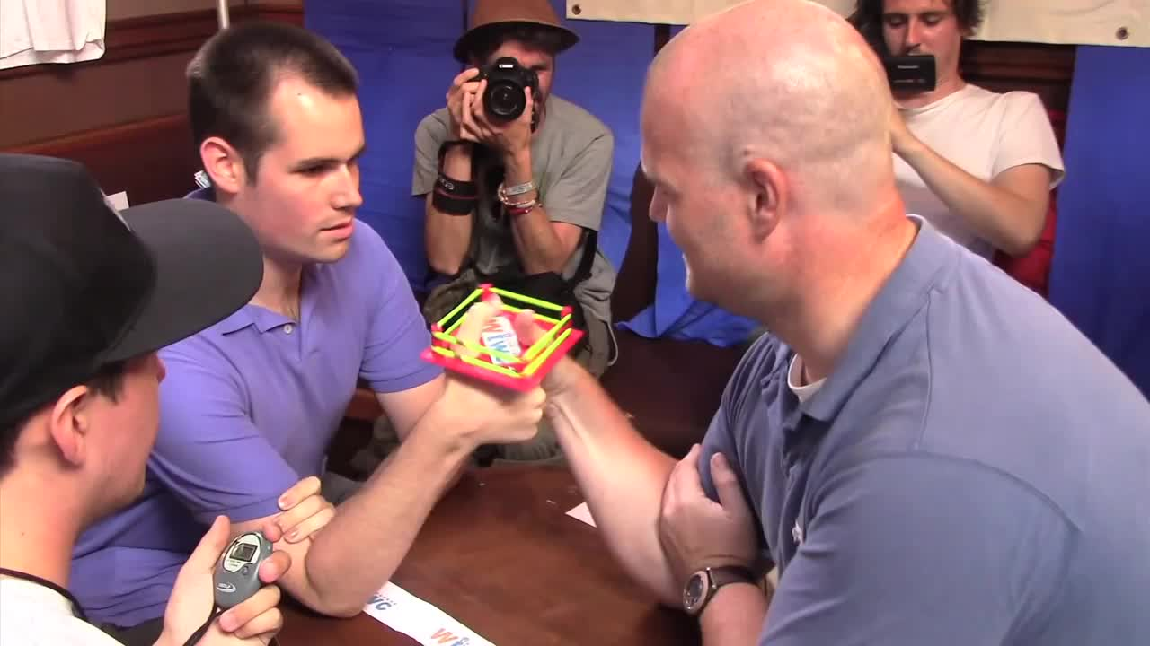 This Thumb Wrestling Ring from the World Thumb Wrestling Championship