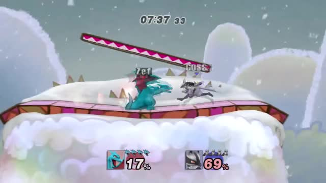 Gotta love the new Lucario Up Smash