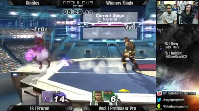 Frozen reads into a psychic snipe on prof pro