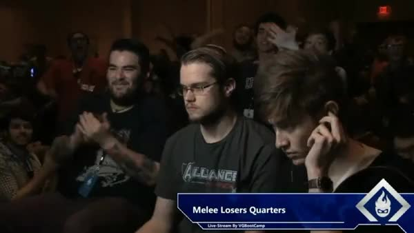 Was re-watching armada vs leffen when i noticed the fan in the top right was more hype than the rest