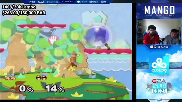 Mango lands the most ridiculous combo on S2J featuring a triple fox fair