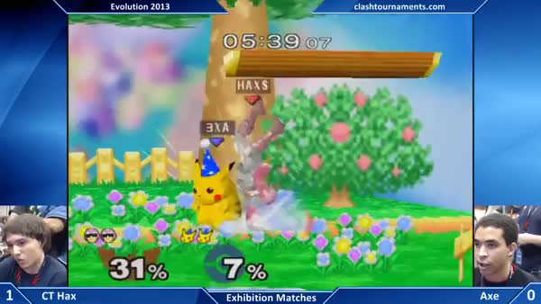 [Falcon] Hax gets 73% with good DI and a swift followup.
