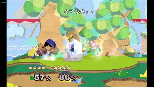 Explosive end to a stock w/ Ness