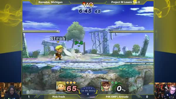 Pink Fresh hits his stride vs Armada