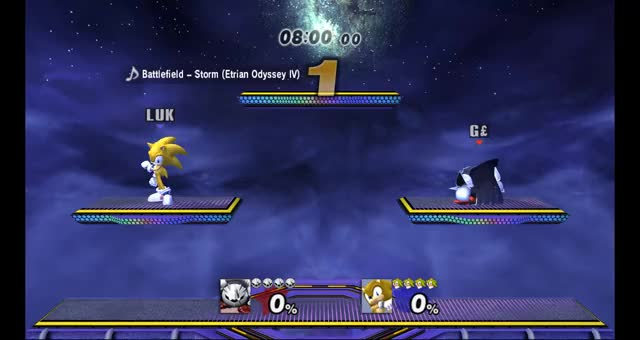I got obliterated by a Sonic on netplay