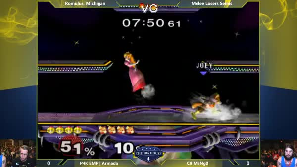 Mango moonwalks into a shine to pressure Armada's shield