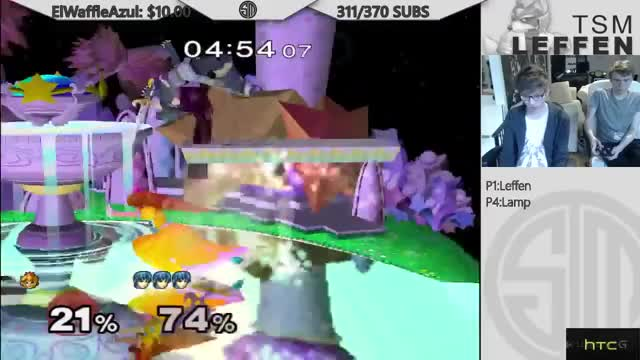 Leffen's Marth is a thing of beauty.