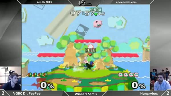 The severity of Melee's punish game. (X-post from /r/smashbros)