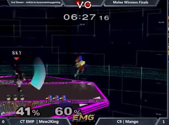 Sick Falco combo by Mango vs M2K at GOML