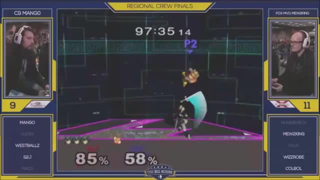 Mang0 with the clutchest mangle I've ever seen