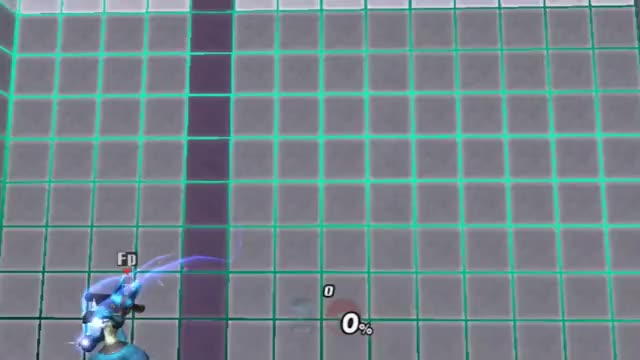FINALLY DUN IT – we MegamanX now! Lucario reaching the top of the training room stage using wavebounces.