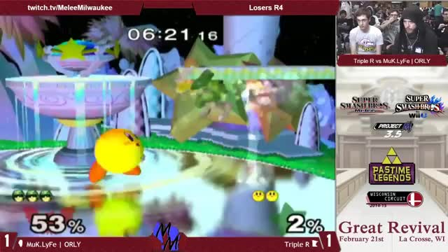 Triple R shows ORLY why you should mash out of Kirby's bthrow
