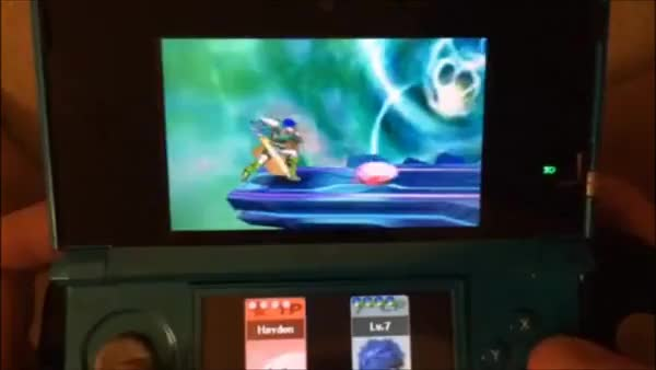 Made a Gif Showcasing Kirby's Edgeguarding Potential in Sm4sh