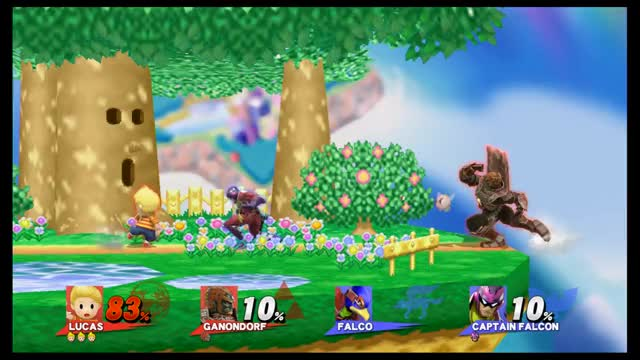 "Umm…wat? ""Optimal"" Ganondorf side-b edgeguard"