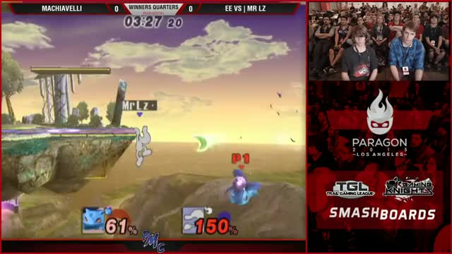Mr Lz Completes the comeback with a broken, unavoidable, autocombo