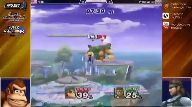 With all this recent talk about Donkey Kong for whatever reason, here's a delicious Poob combo