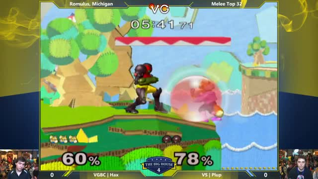 Hax takes a ledgedash vs Plup all the way to the bank