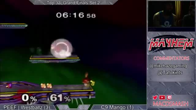 Westballz reaction-based shield pressure into smart airdodge