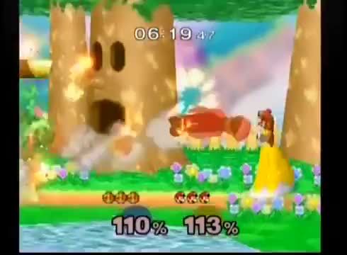 A Luigi at my local tournament had a stroke of luck last Friday