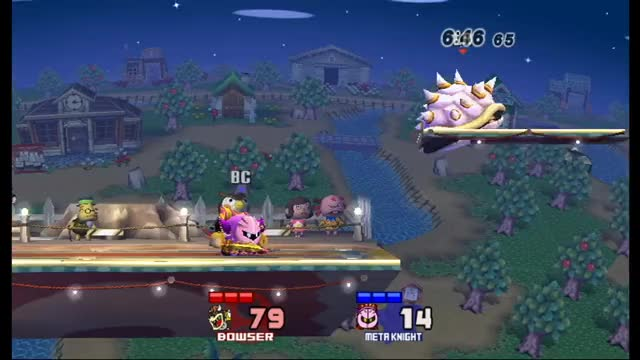 Bowser isn't just all about the grapples