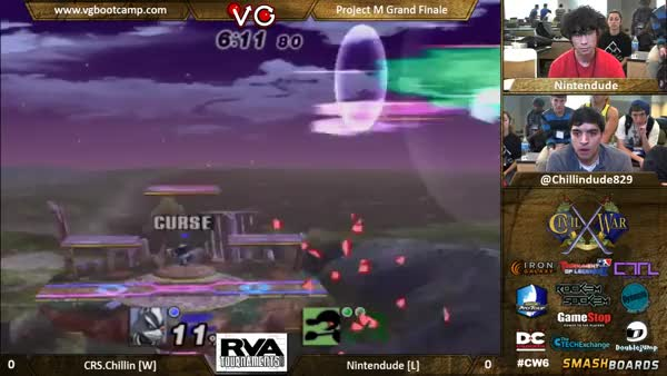 Chillindude's Wolf 0-to-death combo in grand finals (CW6)