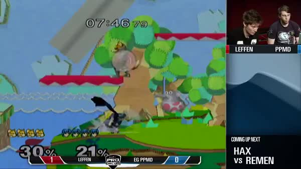Randall almost saves Leffen from PPMD