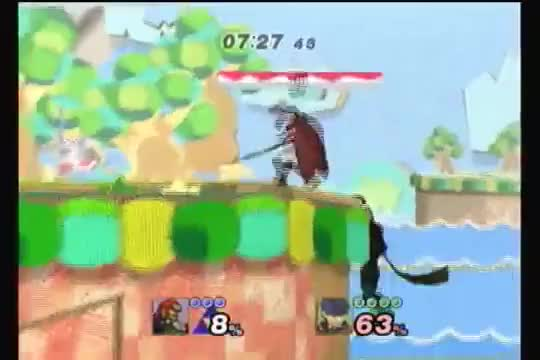 Metroid's buster combo