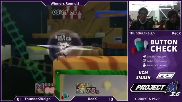 ThunderzReign's Falcon rejects RedX's Link's extended recovery