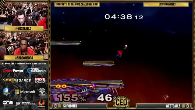 The quickest draw doesn't always win the standoff – Westballz vs Shroomed @ CEO 2015