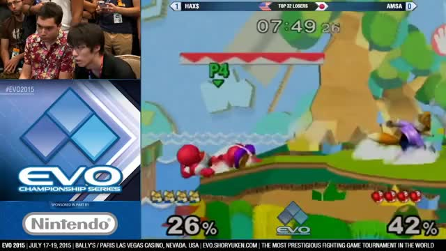 Amsa with a slick sequence vs Hax
