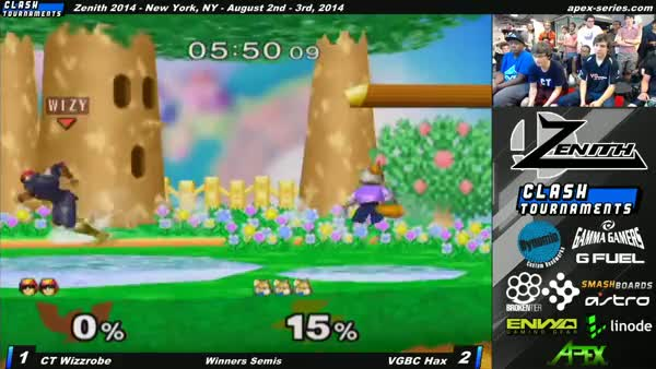 Hax's zero to death against Wizzrobe