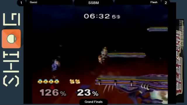 Flash reverses an edgeguard