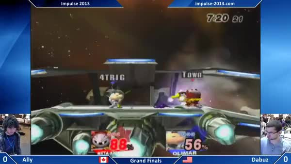 Dabuz's excellent spacing with foxtrots