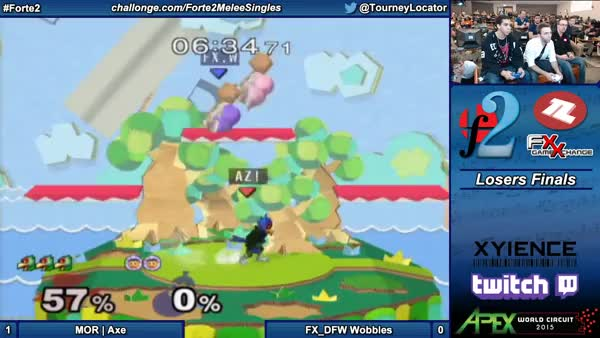 Axe perfectly dispatches Nana against Wobbles at Forte 2