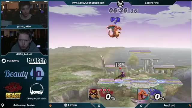 TSM Leffen 0-deaths Android in style! [Beauty 10]
