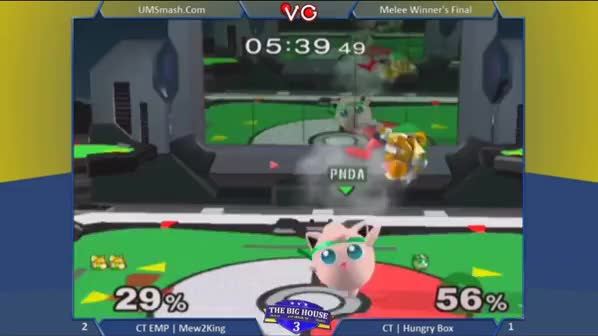 Oct 2013: M2K lost 13 times in a row to Hungrybox. He didn't win a match against him for more than four years. This is what it looked like when he finally won.