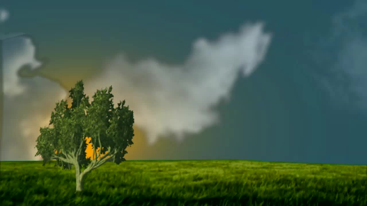 animated video showing clouds morphing into silicon valley unicorns
