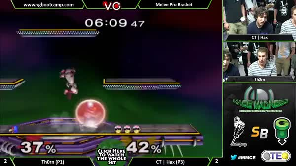 Hax with the most disgusting Falcon combo