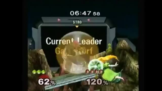[Peach] PGH Carroll gets a ruthless edgeguard with a creative Peach Bomber.