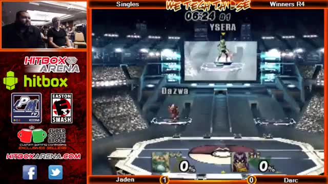 Amazing Fundamentally-Sound 0-death Falcon play by Darc